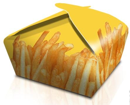 Caixa Cartolina Malmequer Batata Frita 16x12