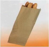Saqueta Papel Castanha 10+6x25