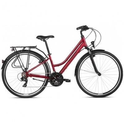 Bicicleta Kross Trans 1.0 Ruby-Black Lady