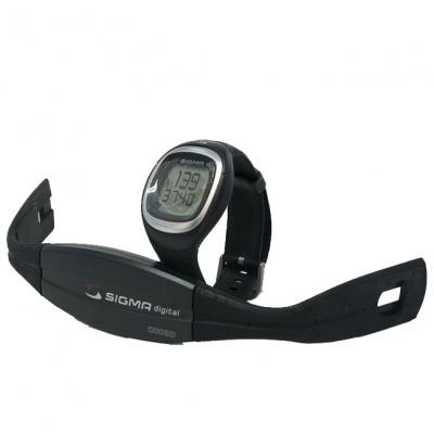 Relógio com cardiobanda - Sigma Onyx Classic
