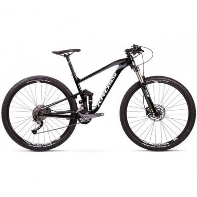 Bicicleta Kross Earth 1.0 Black-Grey