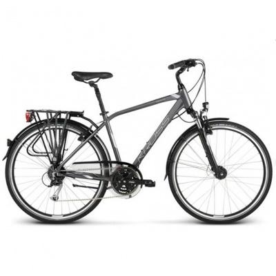 Bicicleta Kross Trans 5.0 Graphit-Silver