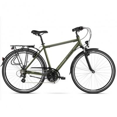 Bicicleta Kross Trans 2.0 Khaki-Black