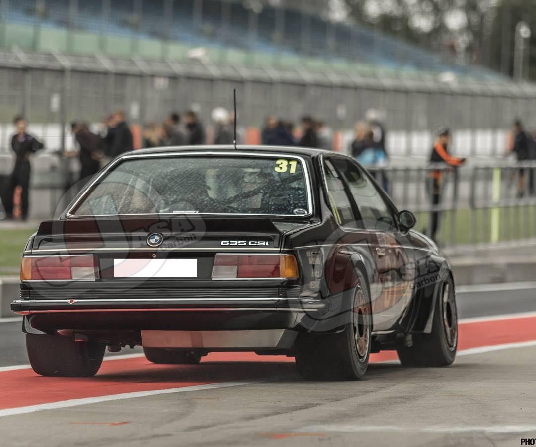 Bmw E24 Spoiler Rear Long Xl Jasa Carbon