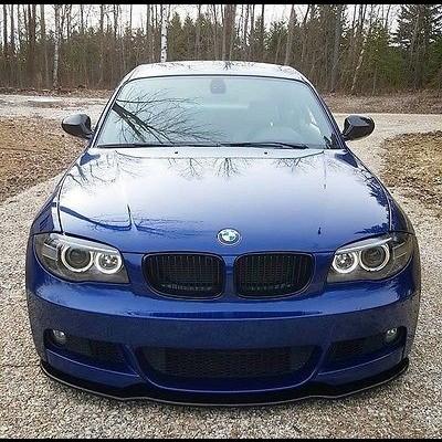 BMW Lip  Série1 (E82 /E88)   Fibra De Carbono