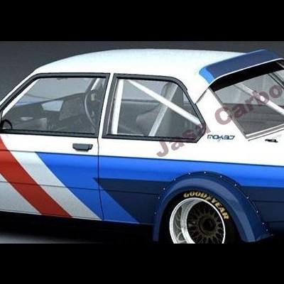BMW E21 Roof Spoiler