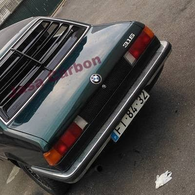 BMW E21 LOUVER - Alpina Fiber Glass