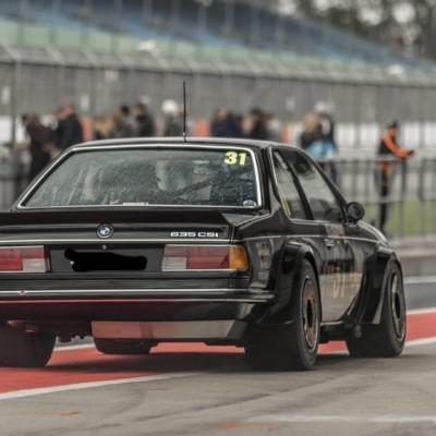 BMW E24 Spoiler Rear - long XL