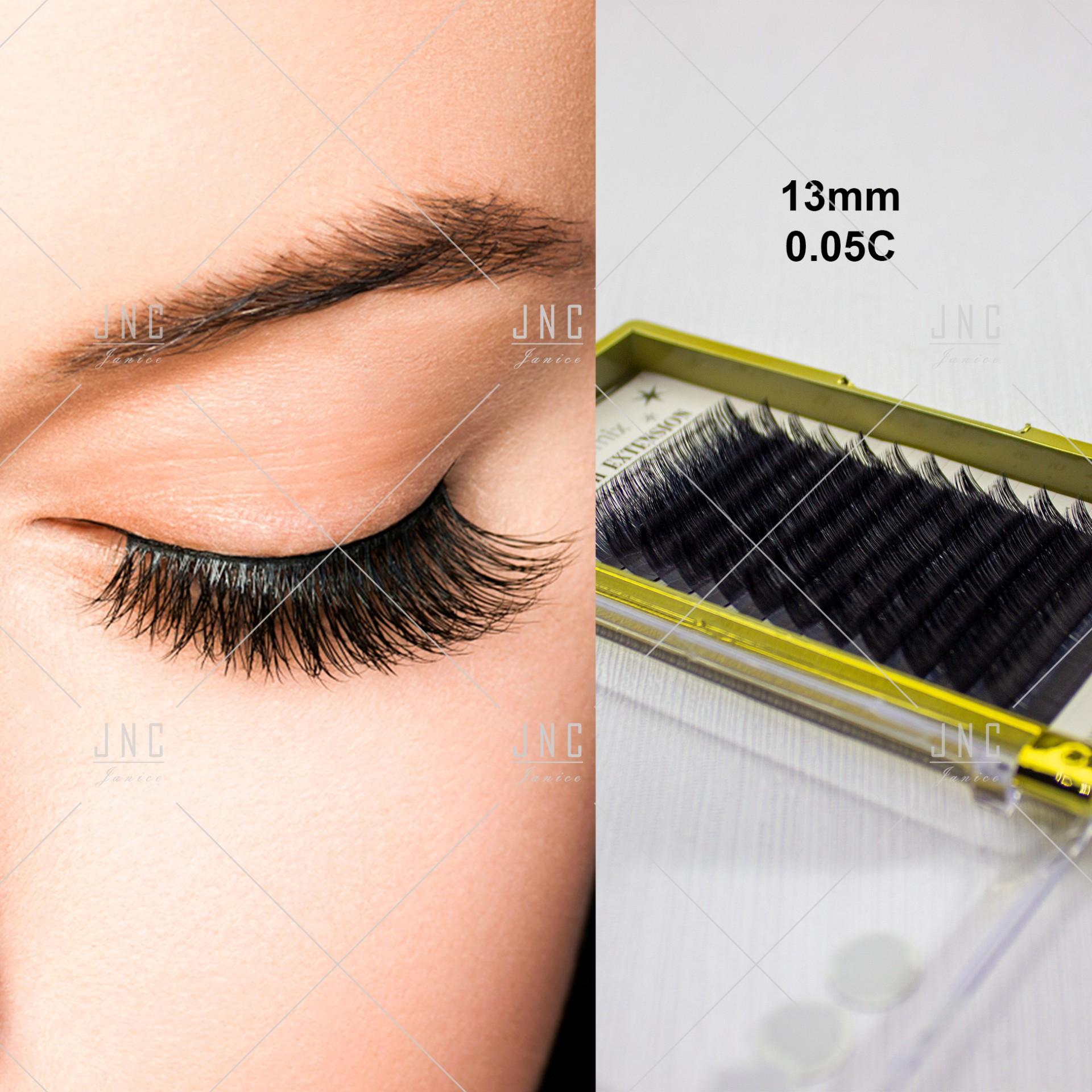 Extensão de Pestanas Eyemix | 0.05C - 13mm | Ref.861807
