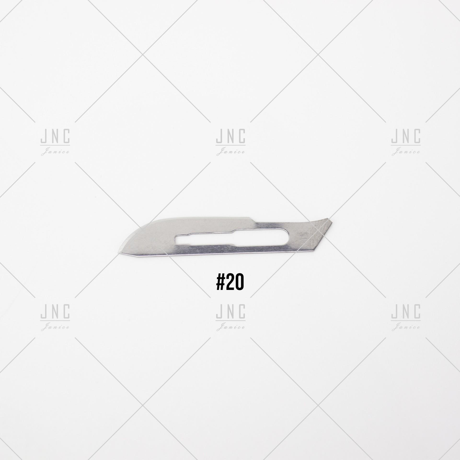 Lâmina #20 para Faca Cirúrgica | LFC20