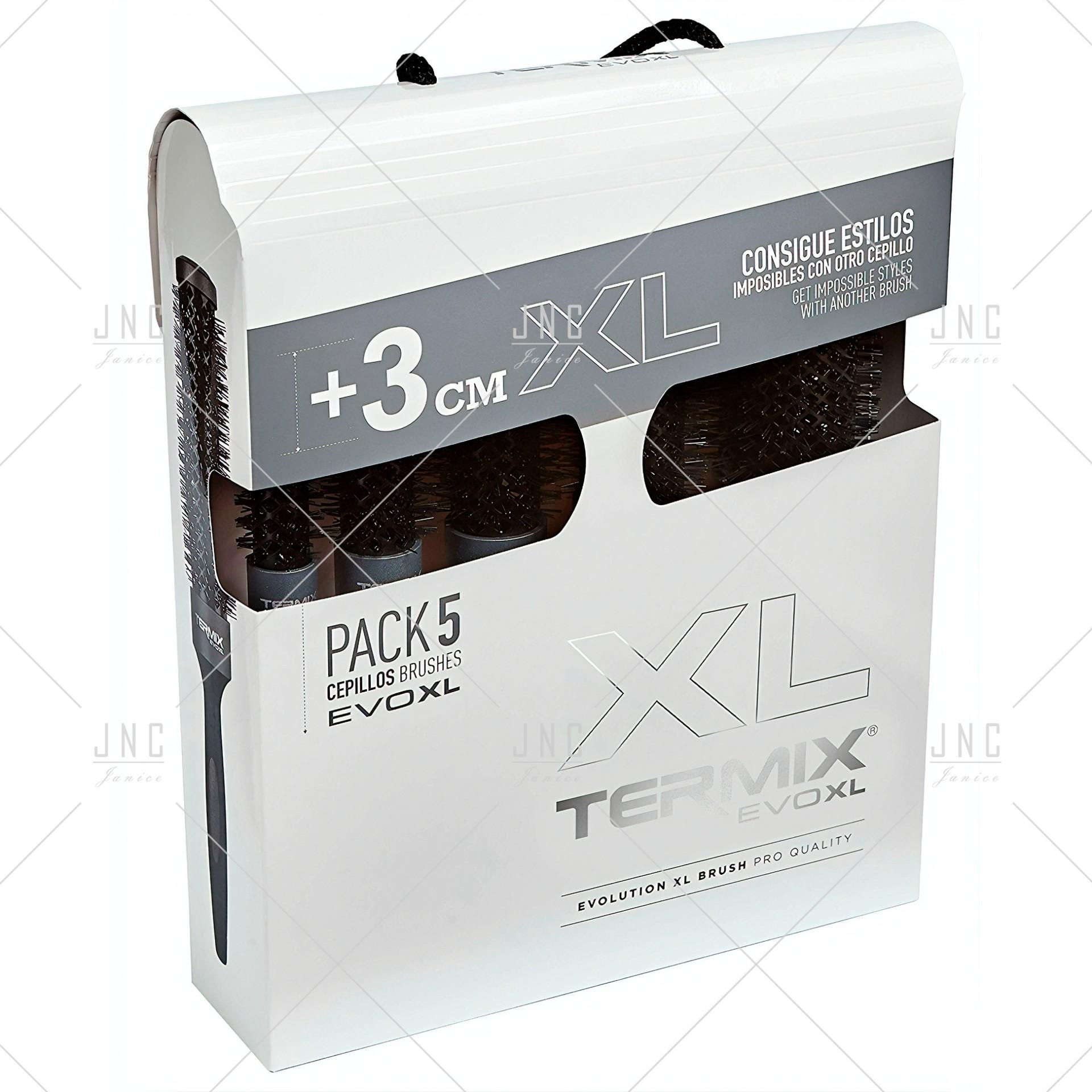 Pack Escovas Cabelo +3cm  XL  EVOXL - TERMIX   Ref. 242372