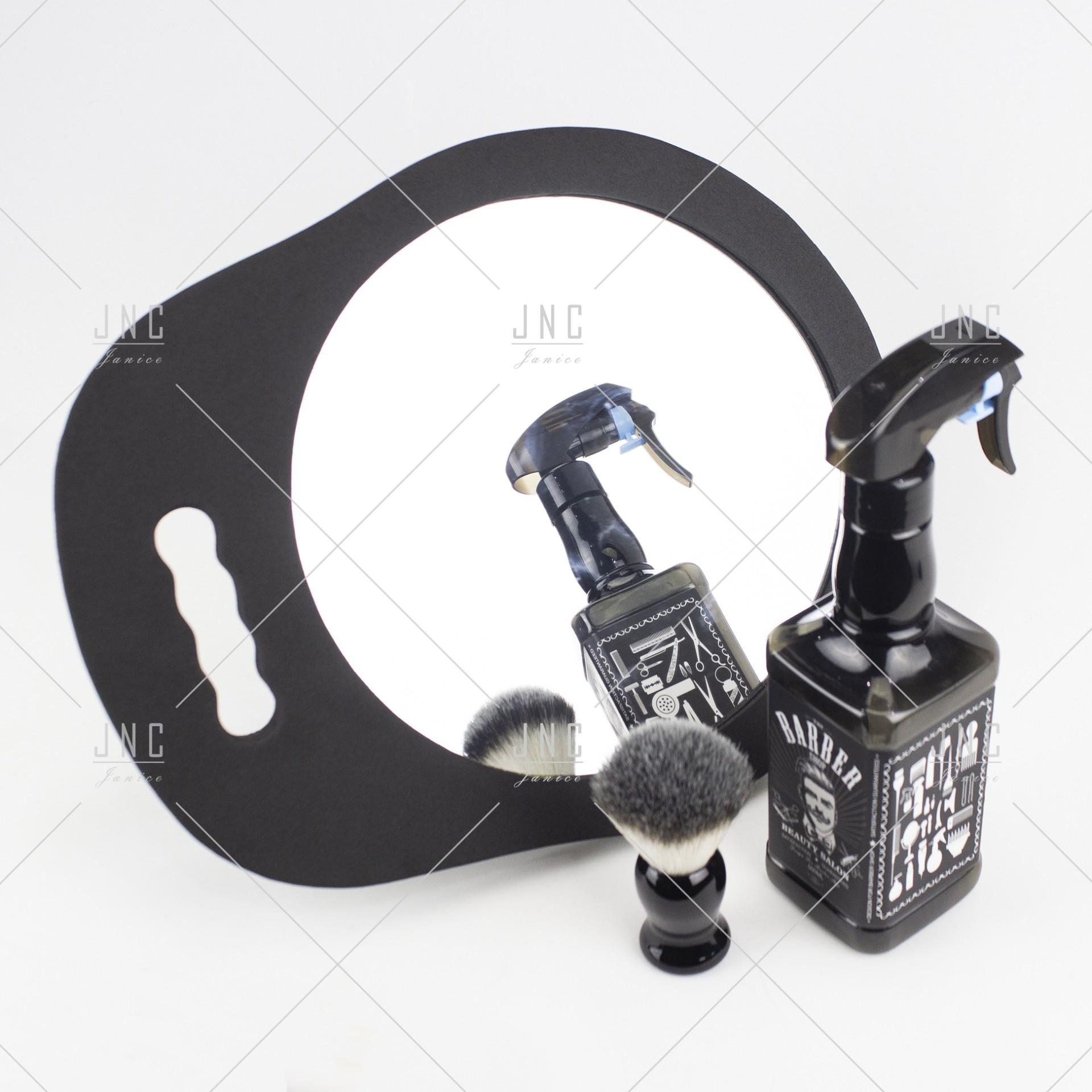 Espelho com pega e moldura emborrachada | Ref.862035