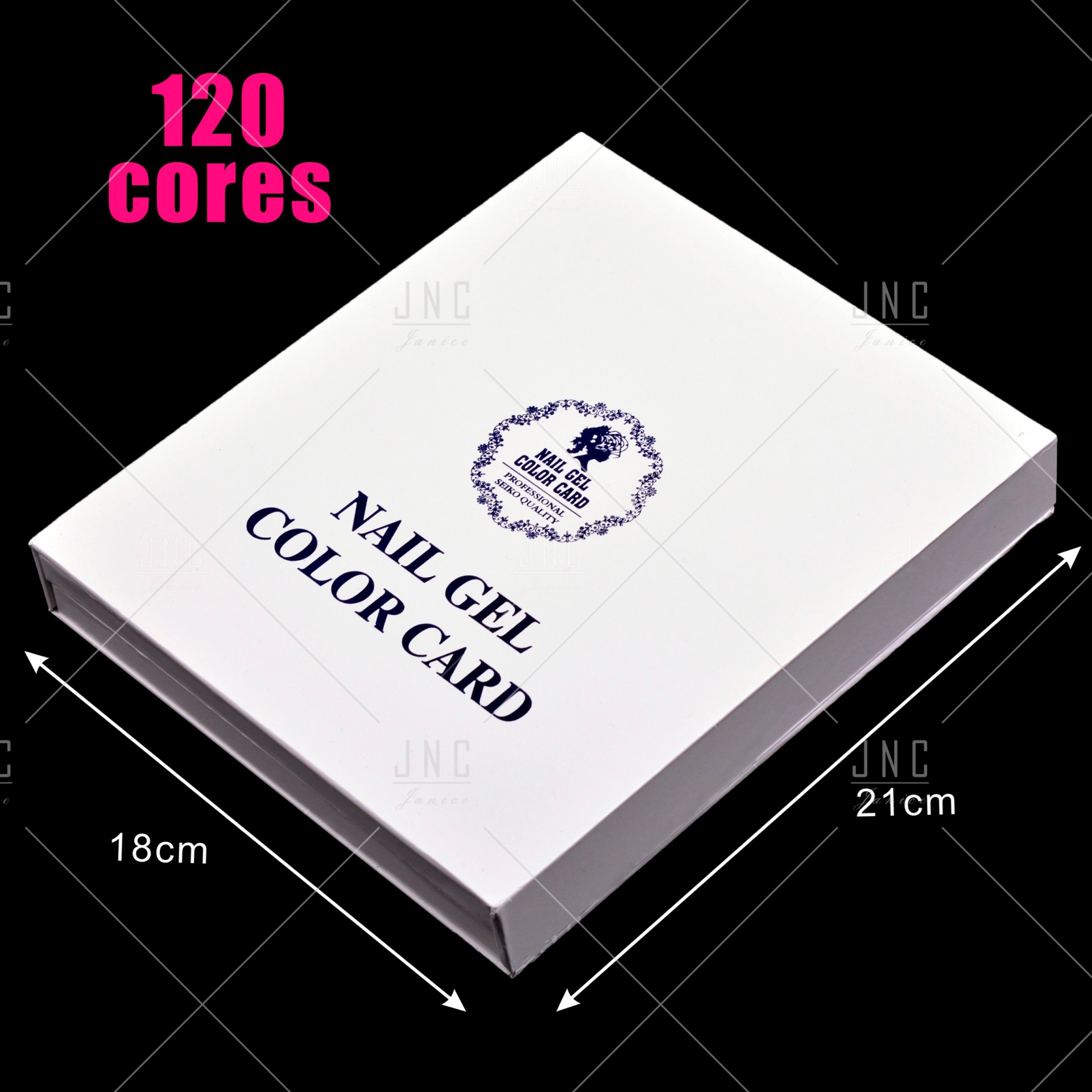 Color Card 120 Cores   Ref.861515