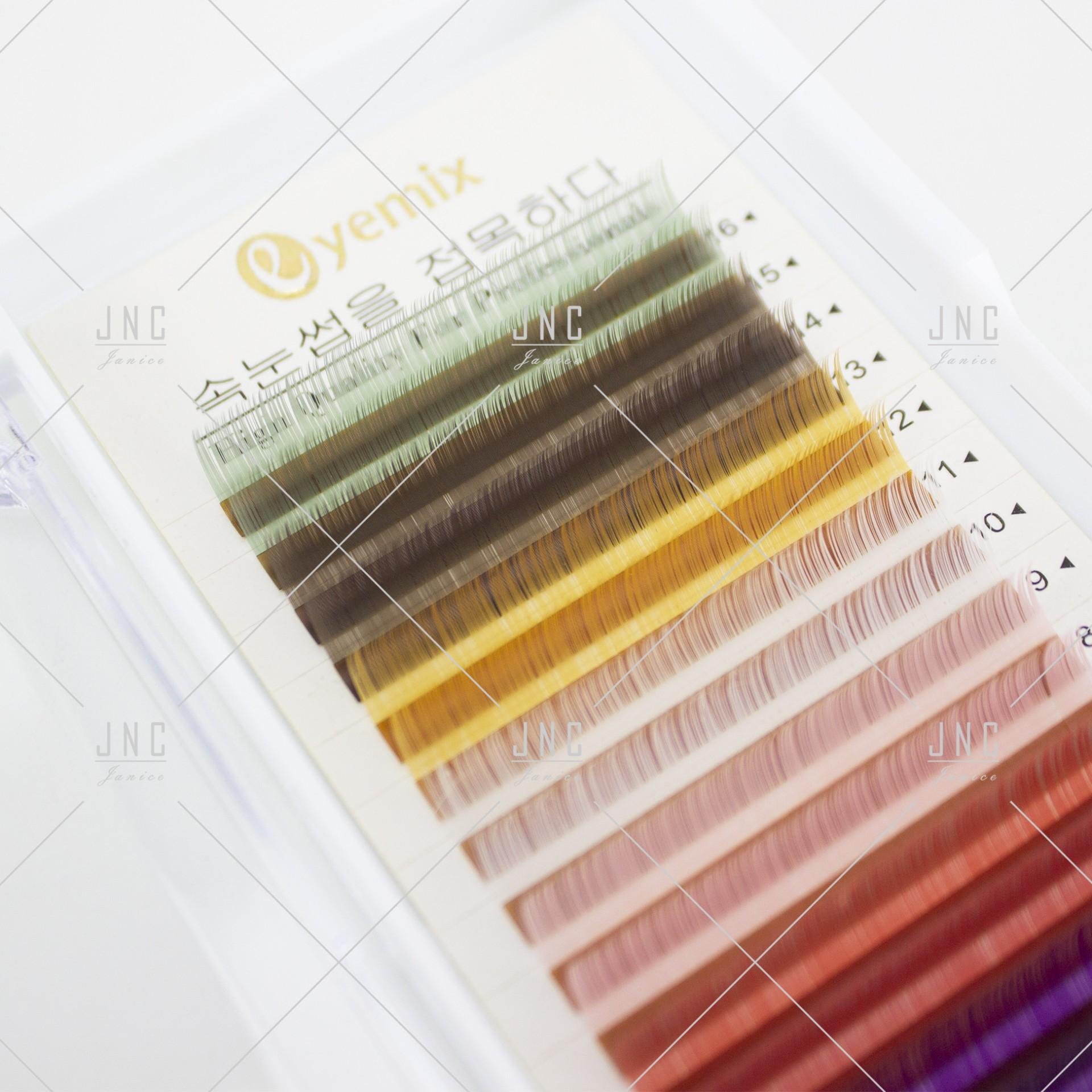 Extensão de Pestanas Coloridas Eyemix - 10mm - 0.10C | Ref.862508