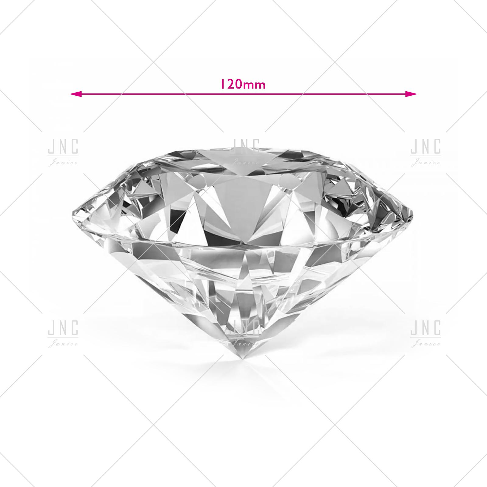 Diamante Transparente para fotos - 120mm | Ref.861878
