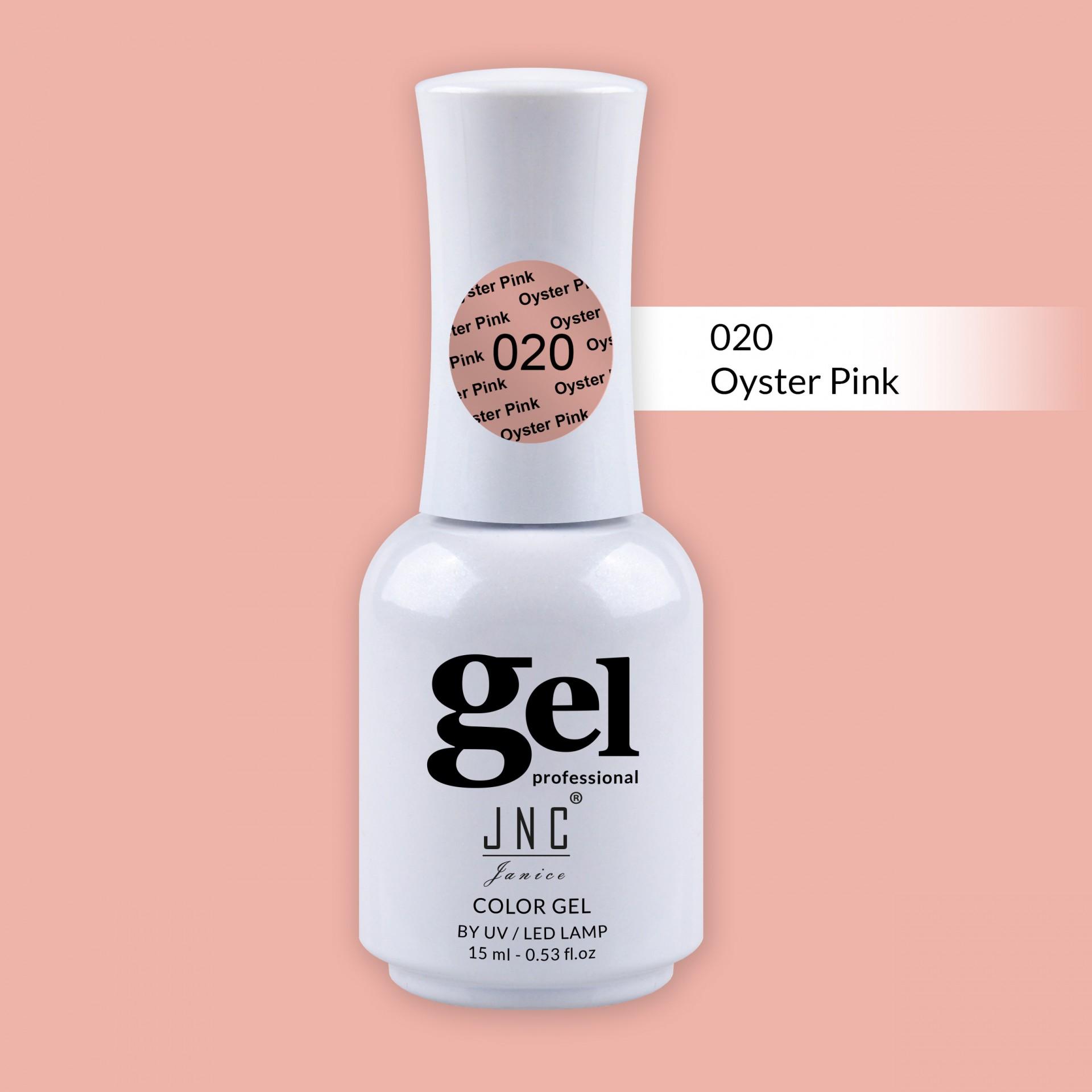 Verniz Gel 020 - Oyster Pink