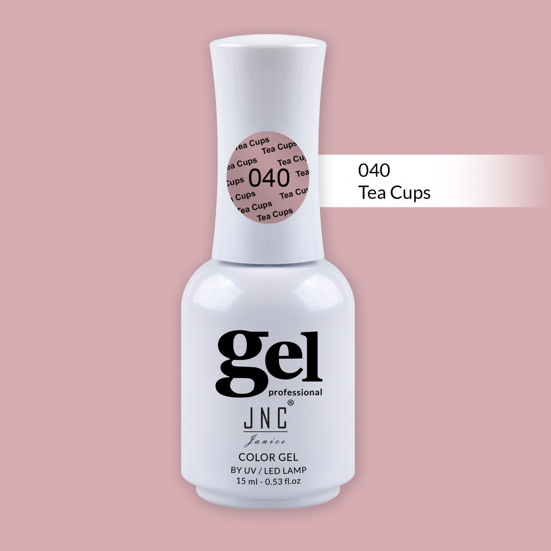 Verniz Gel 040 - Tea Cups