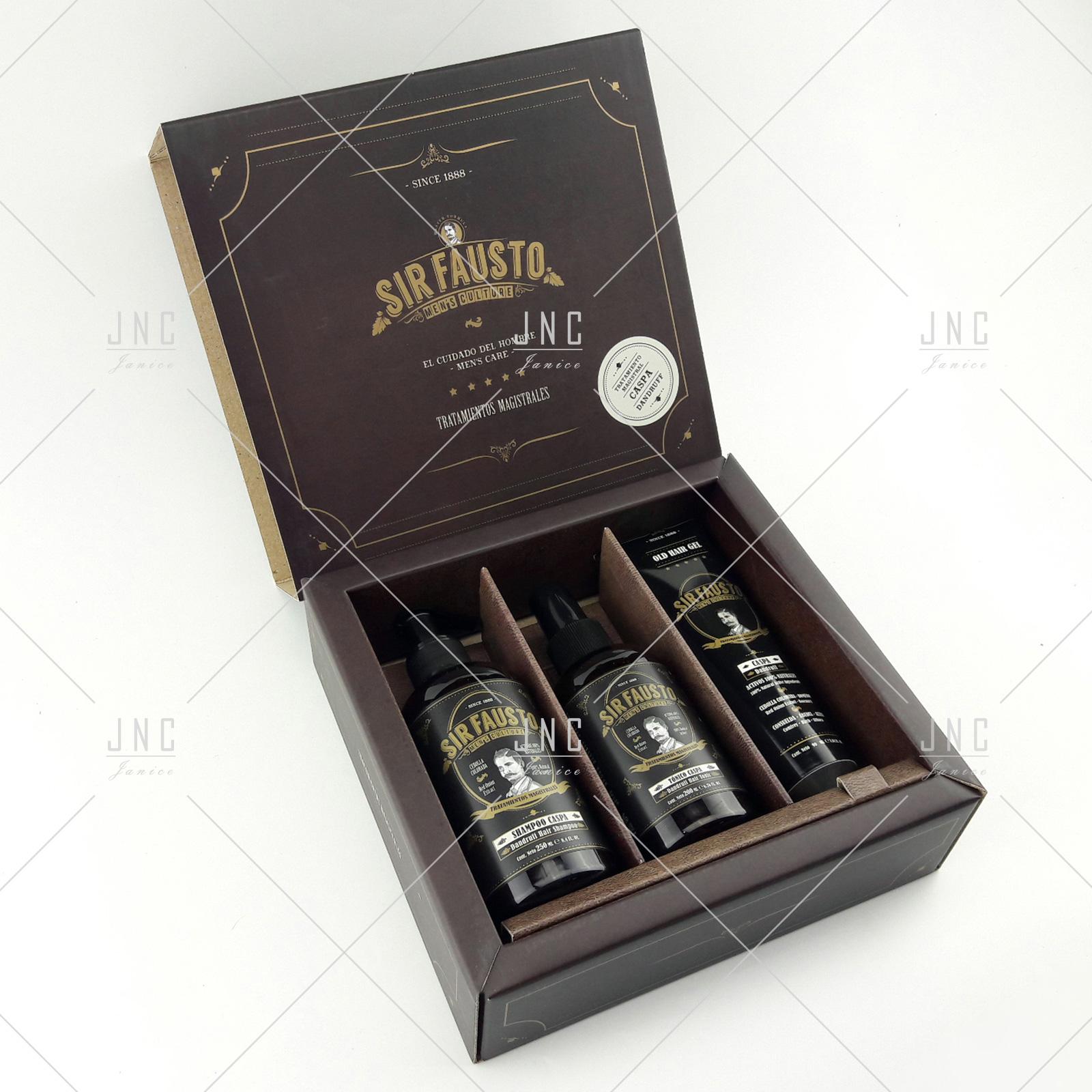 Kit Anti Caspa - SIR FAUSTO | REF.SIR0025