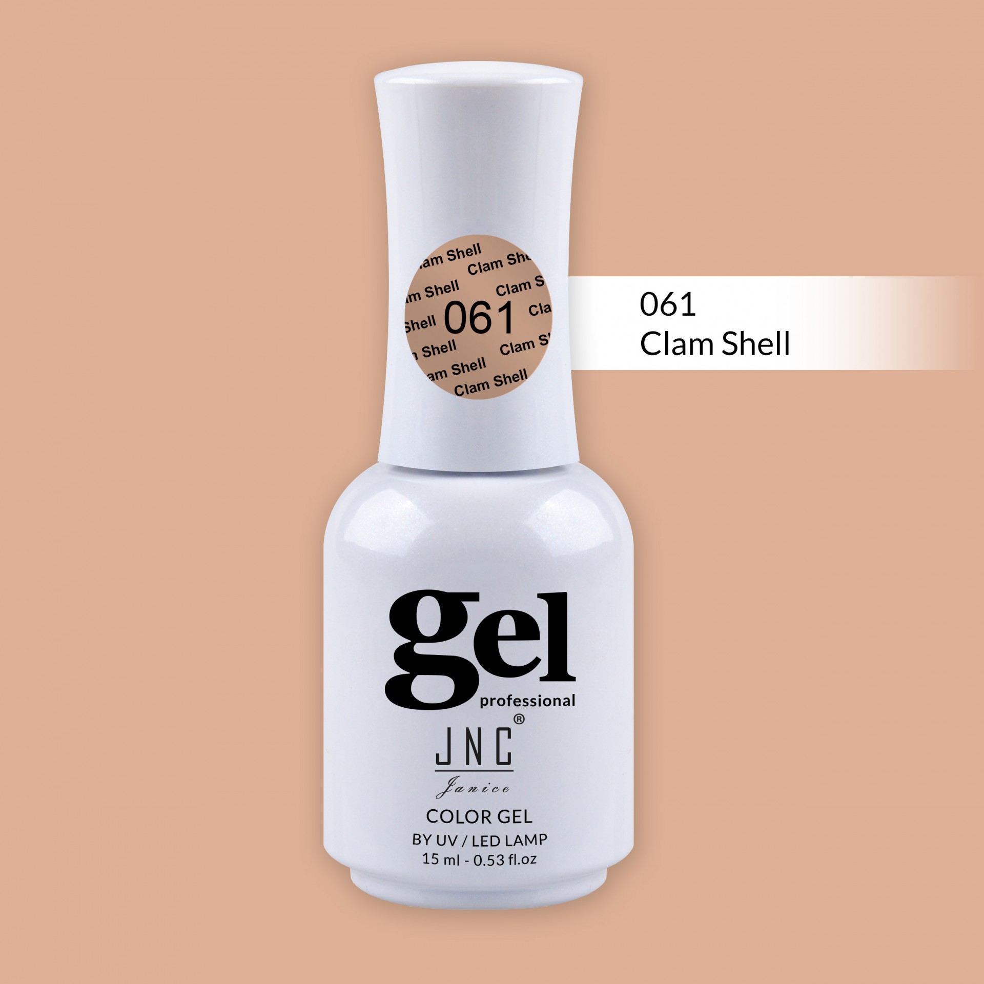 Verniz Gel 061 - Clam Shell