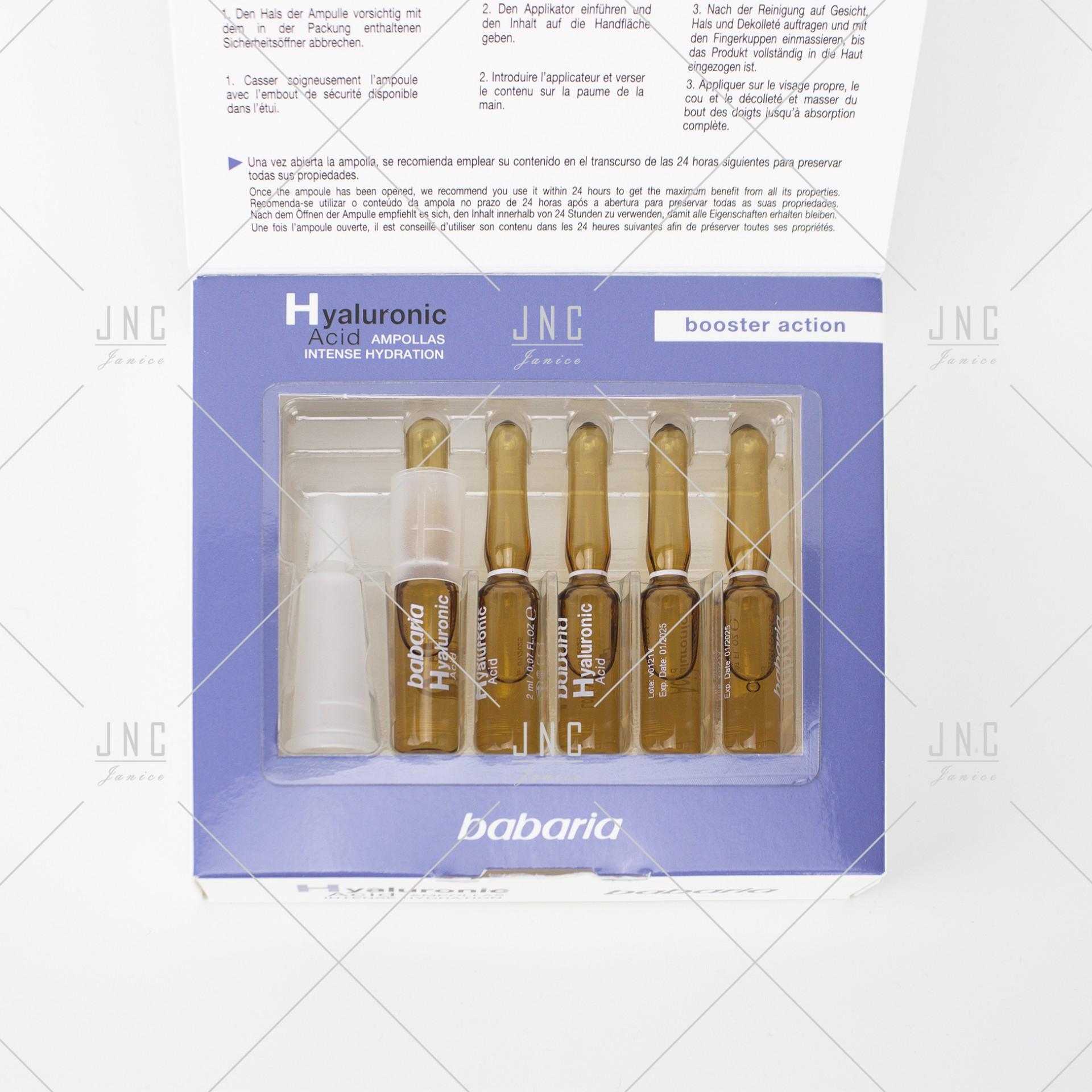 Ampolas Faciais - Hyaluronic Acid | Ref.100137