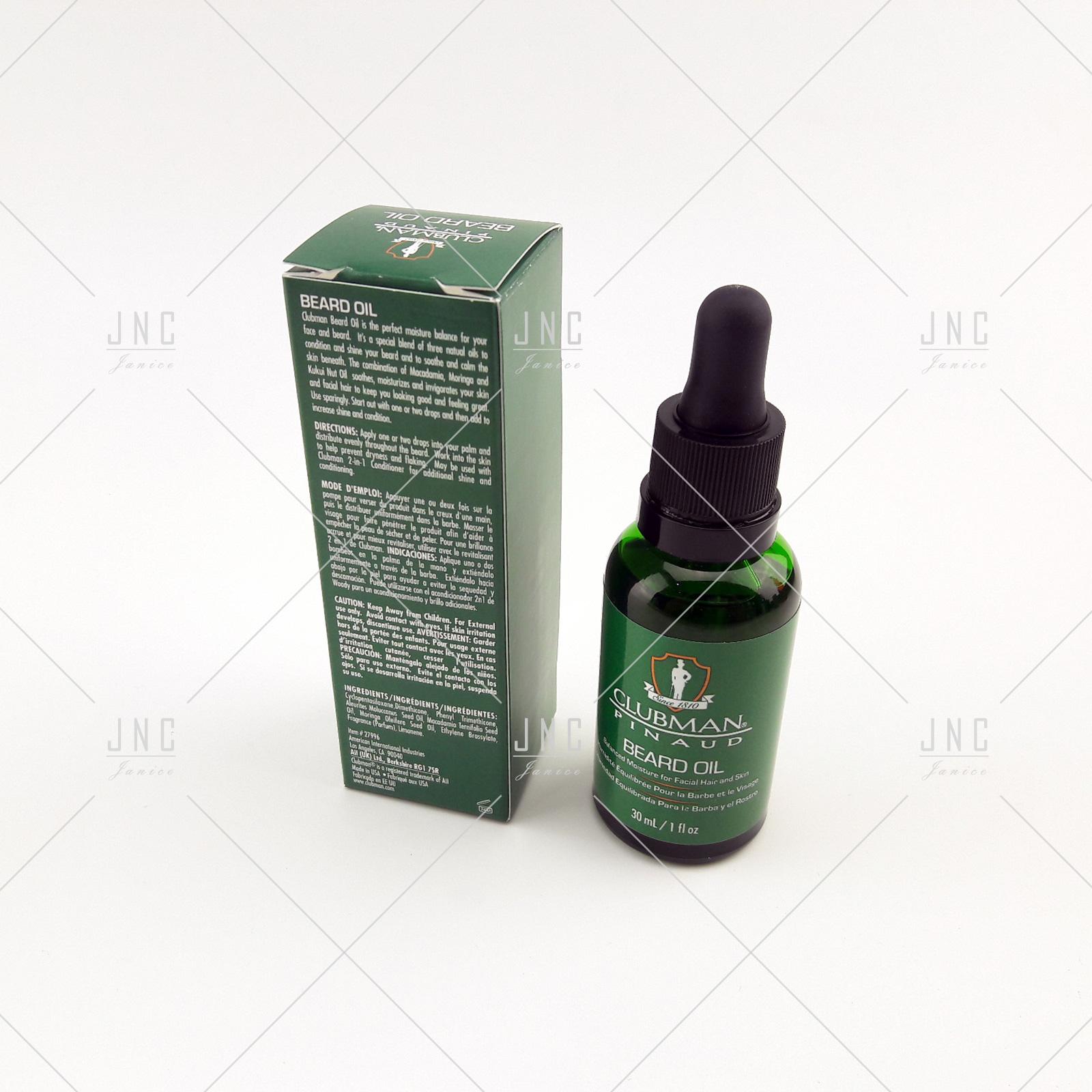 Óleo Hidratante Barba 30ml | REF.CP27966