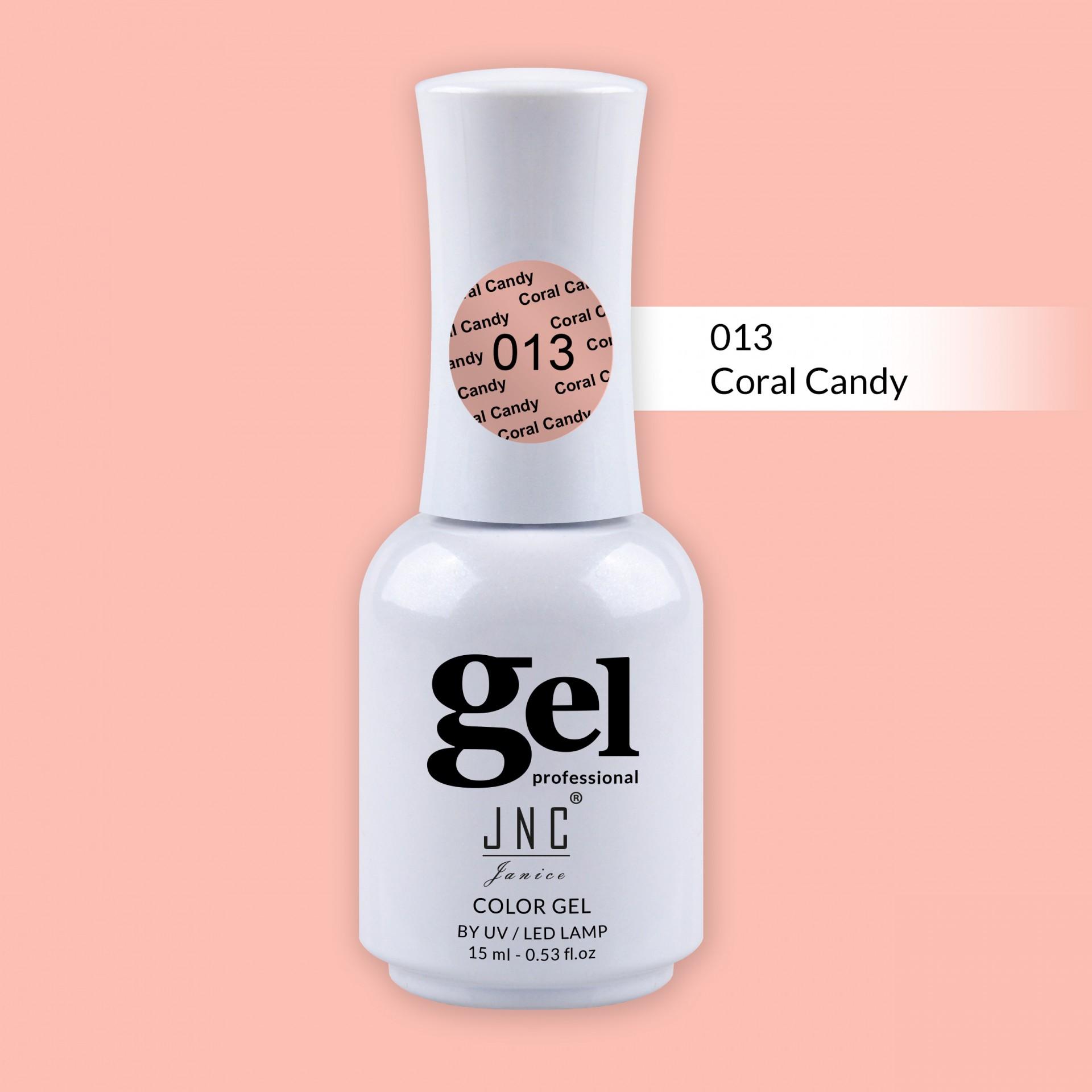 Verniz Gel 013 - Coral Candy
