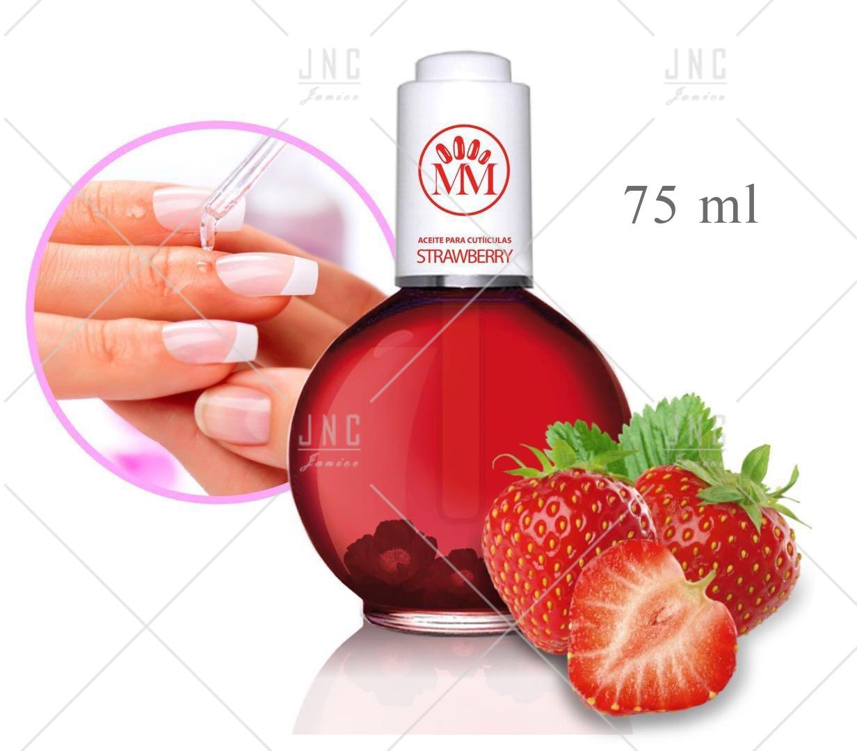 Óleo Hidratante para Cutículas - Morango   Ref.515519