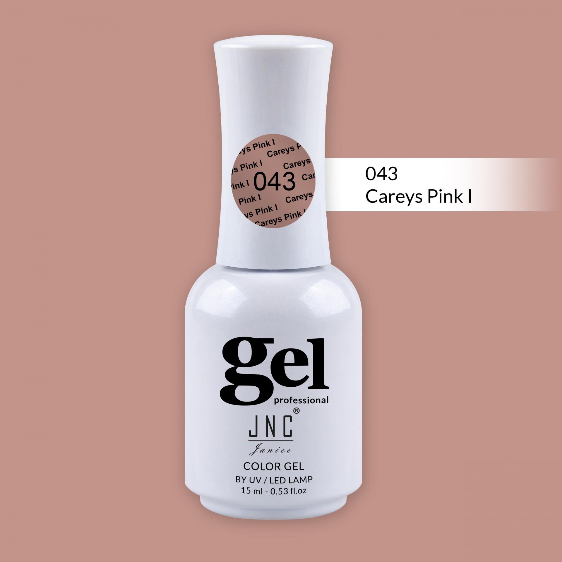 Verniz Gel 043 - Careys Pink I