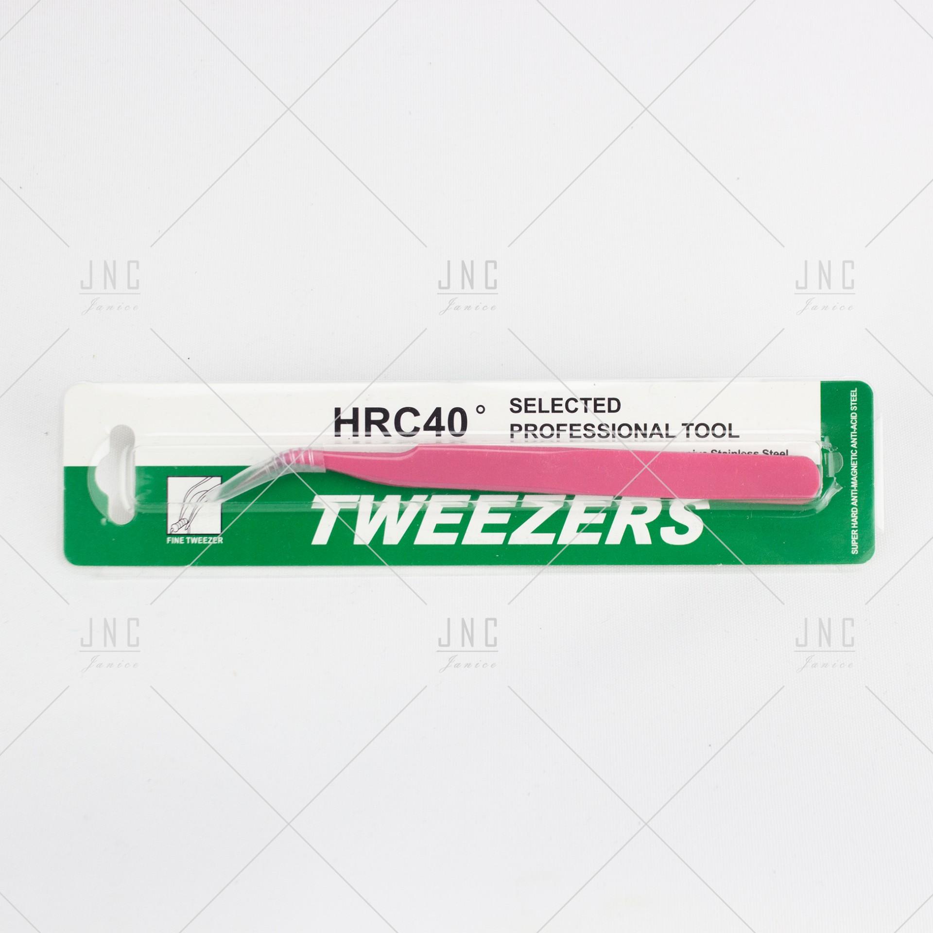 Pinça alongamento de Pestanas | Ref.HRC40-1
