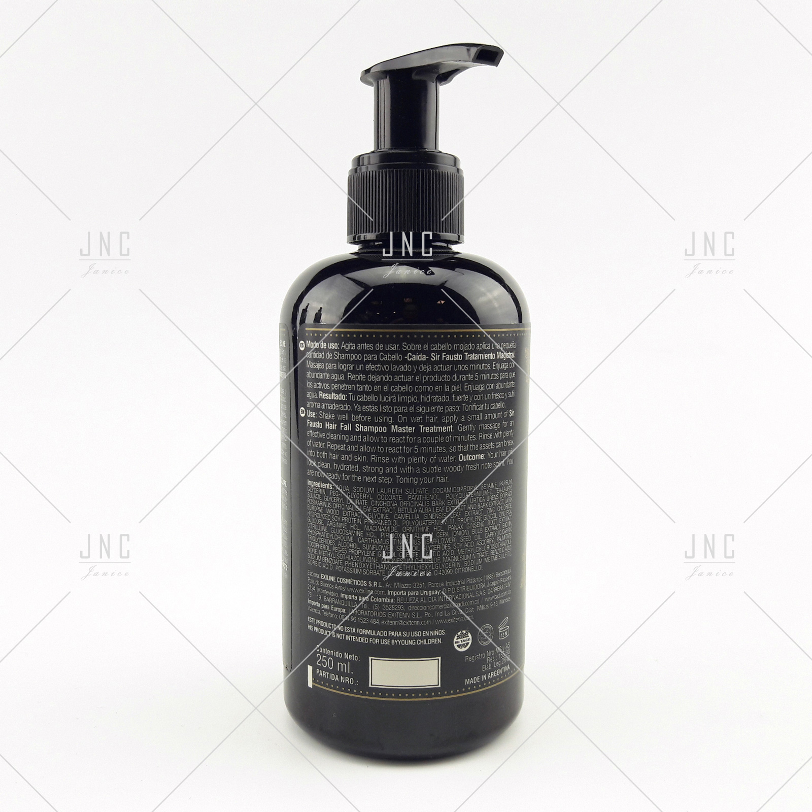 Shampoo Anti Queda - SIR FAUSTO 250ml | REF.SIR0001