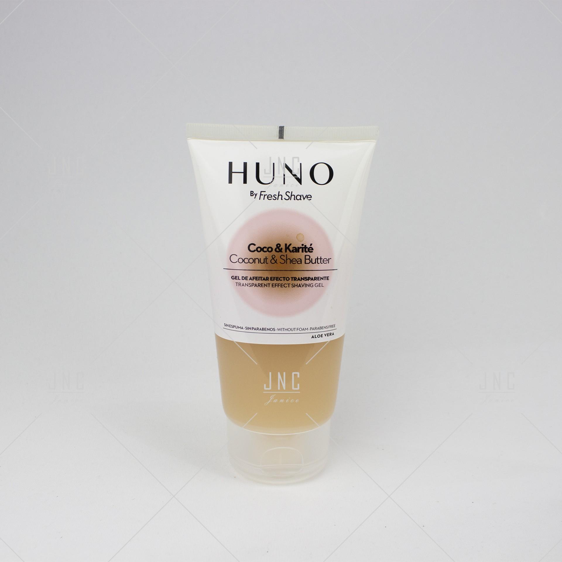 Gel de Barbear - Coconut & Shea Butter - Huno 150ml | Ref.490039