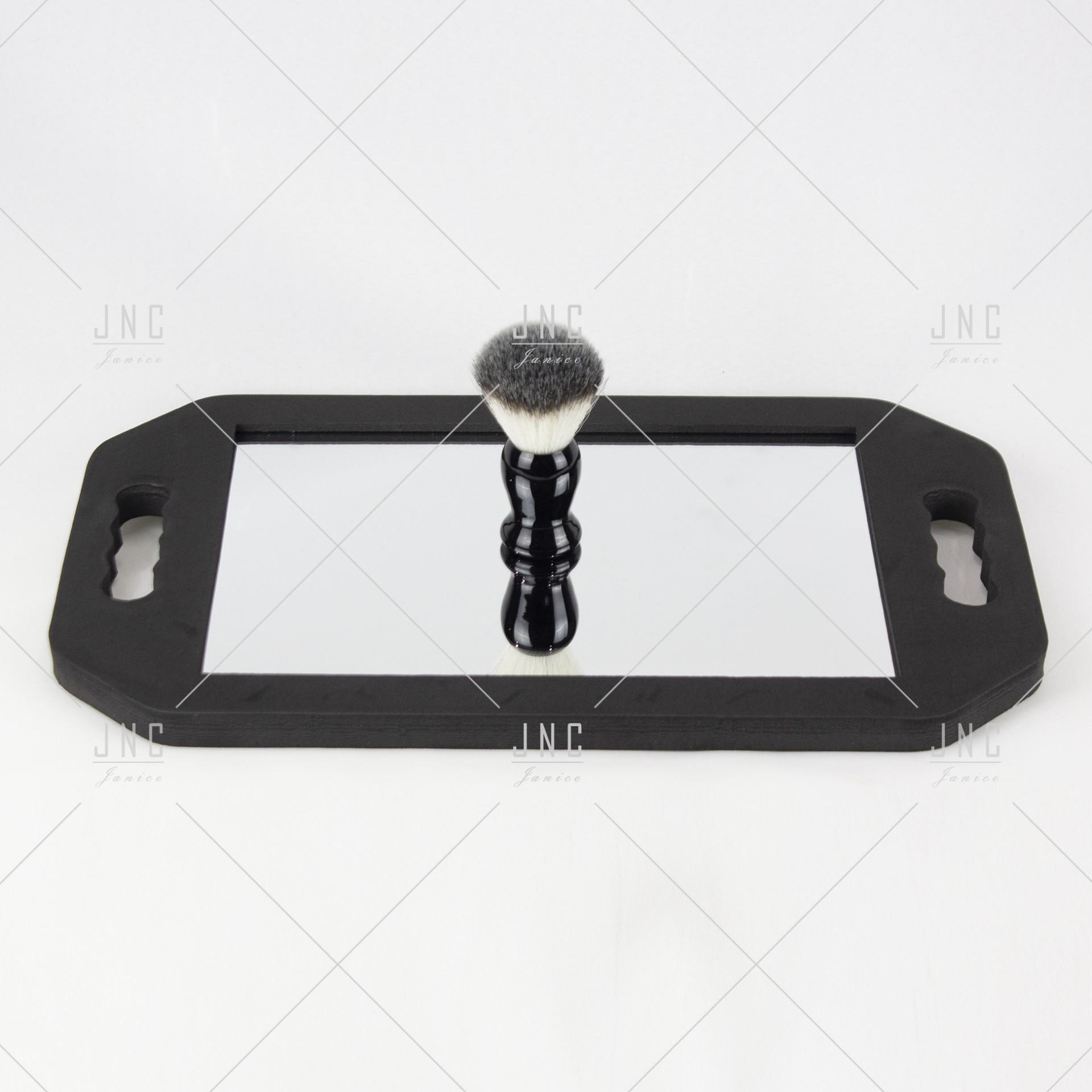 Espelho com pega e moldura emborrachada | Ref.862033