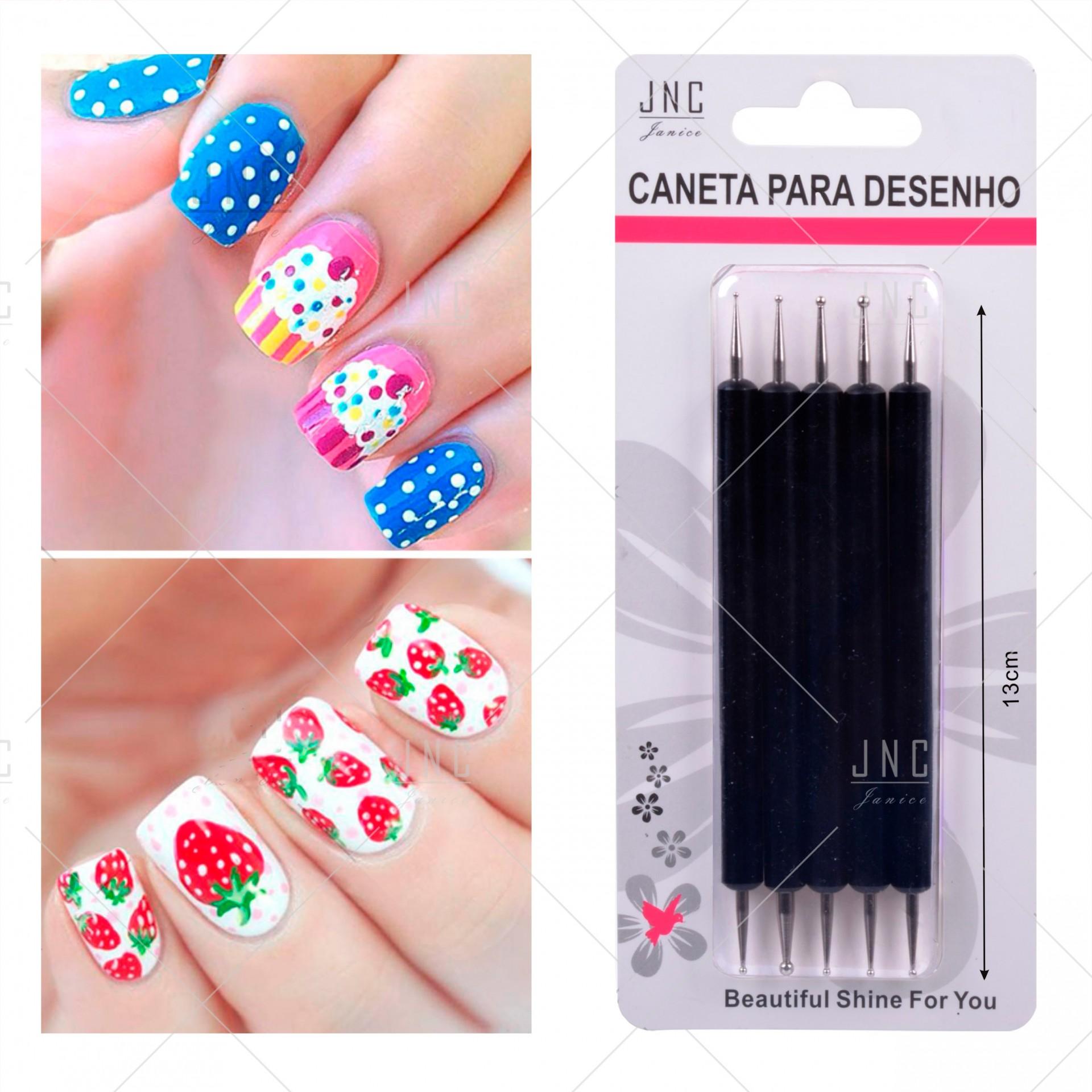 Kit com 5 Nails Pen | Ref.860459