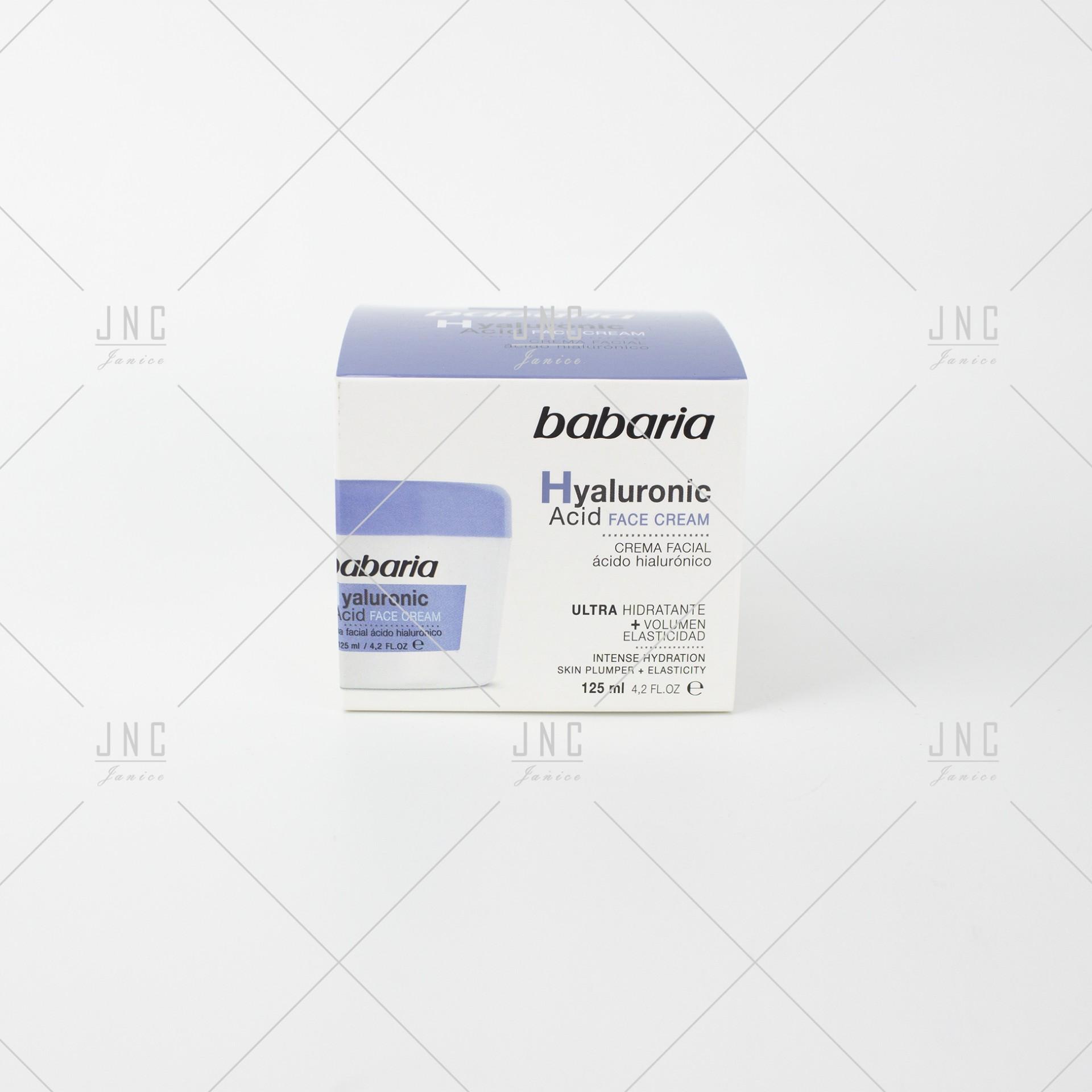 Creme Facial Hyaluronic Acid   Ref.100113