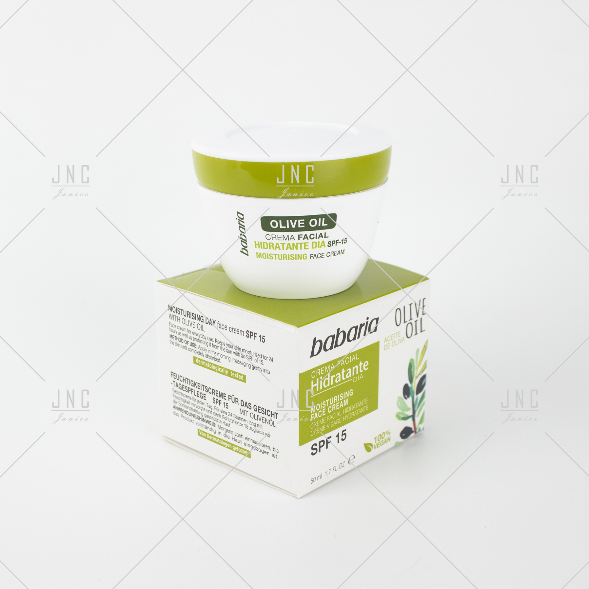 Creme Facial Azeite Oliva   Ref.98765