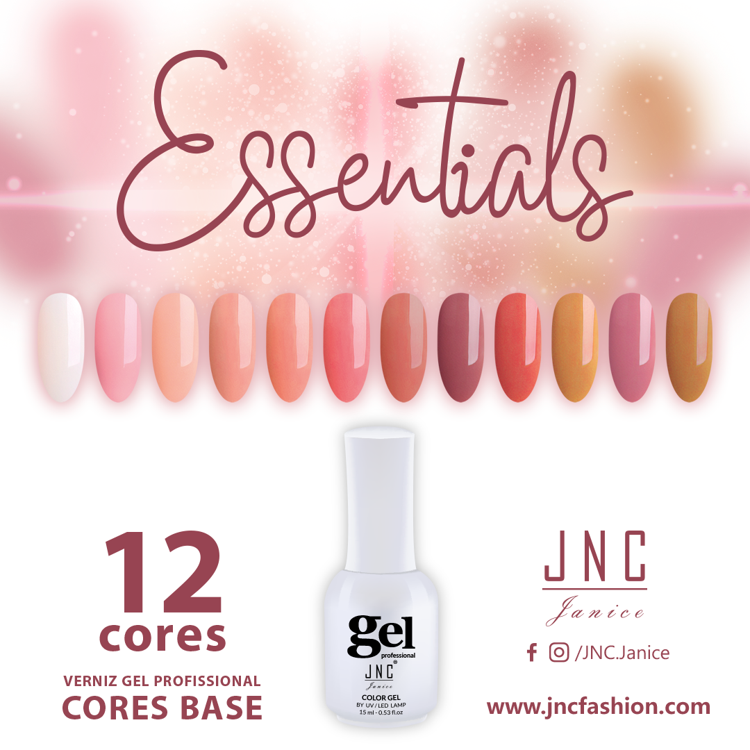 Kit (12 unidades) Verniz Gel Essentials