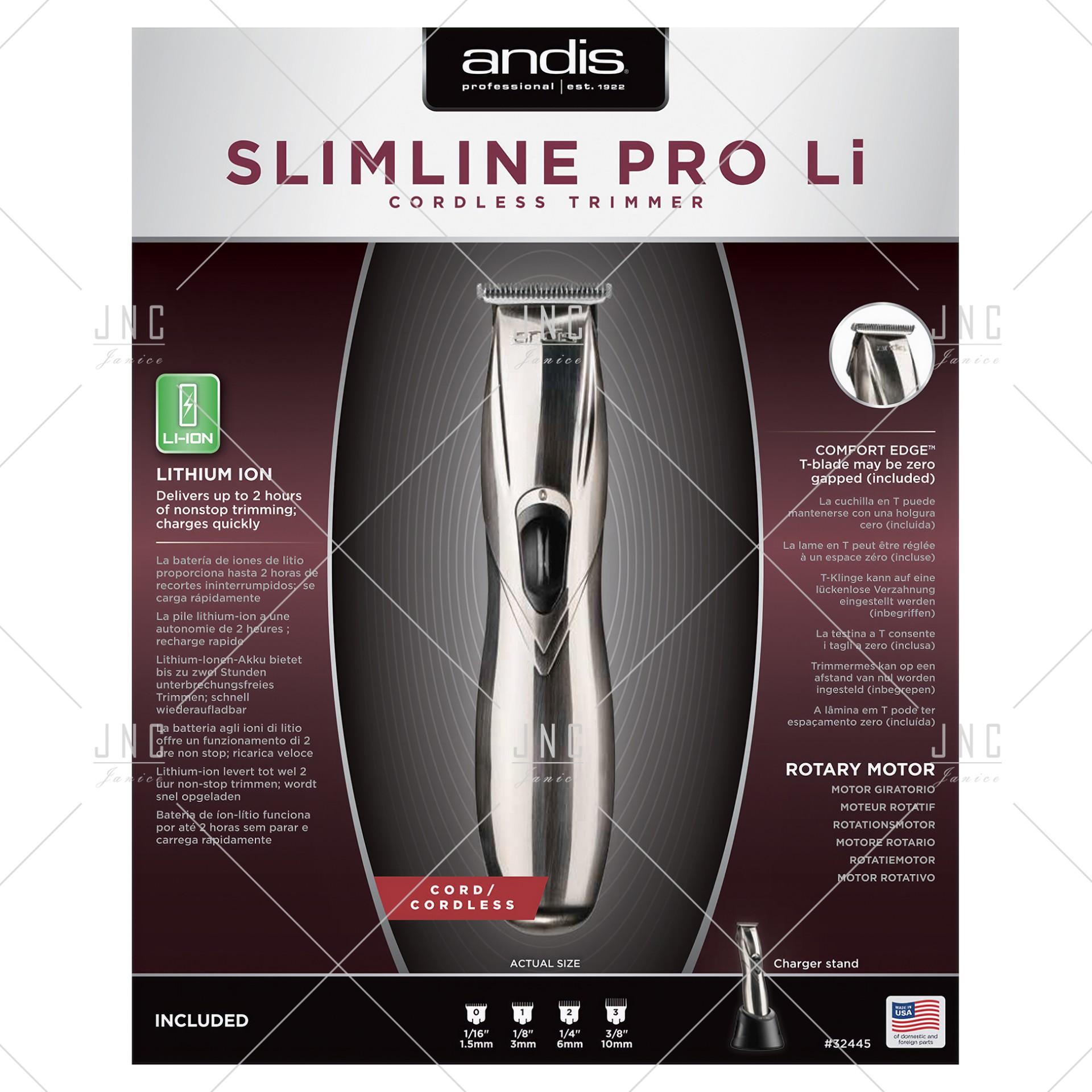 Máquina Andis Slimline® Pro Li T-Blade Trimmer | REF.A32445