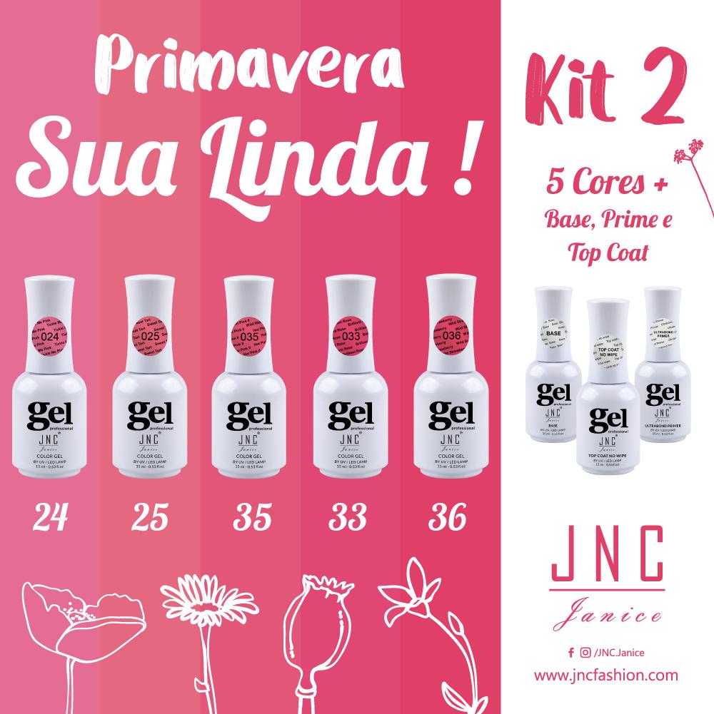 Kit 2 - Primavera Sua Linda ! | Ref.Pri2