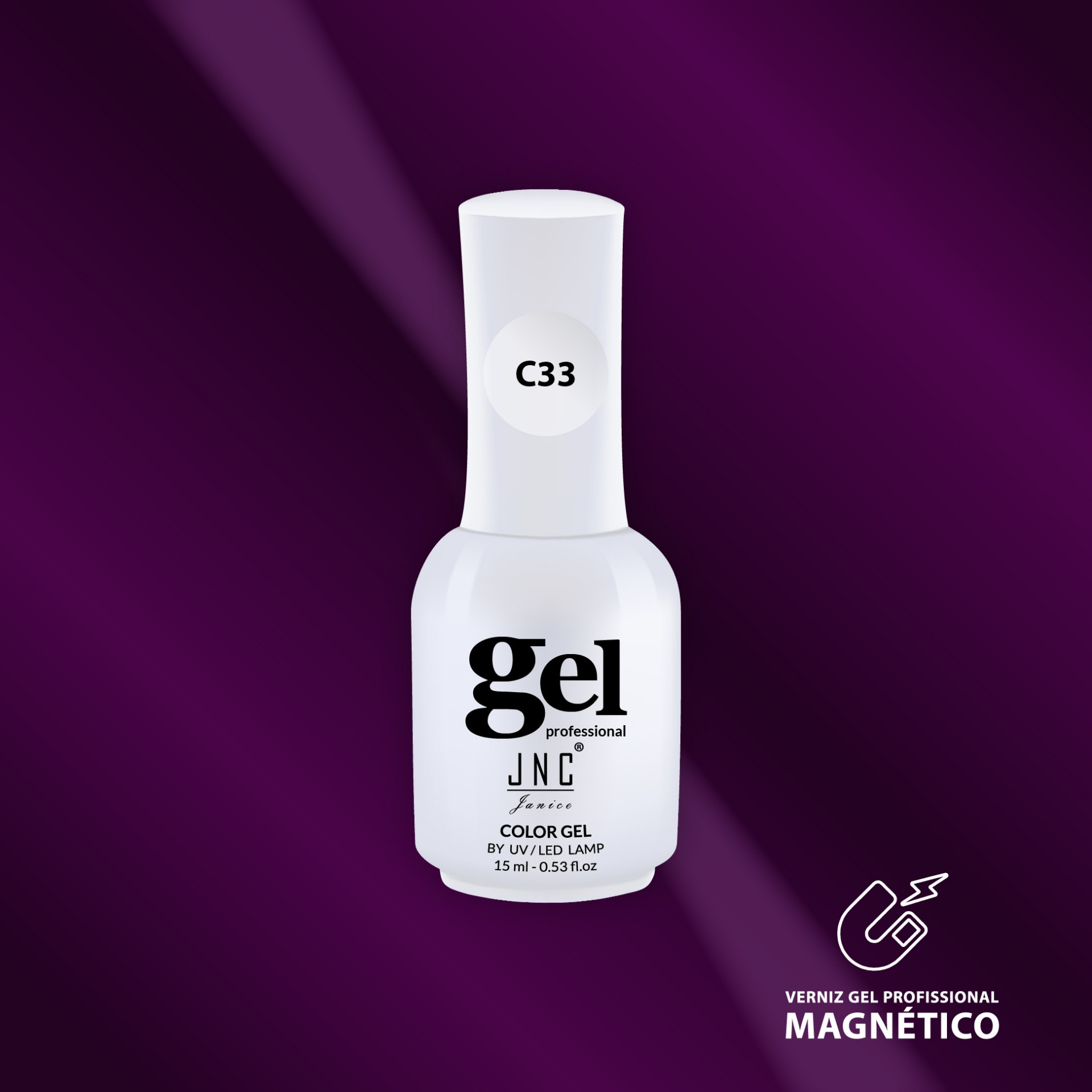 Verniz Gel Cat Eye C33