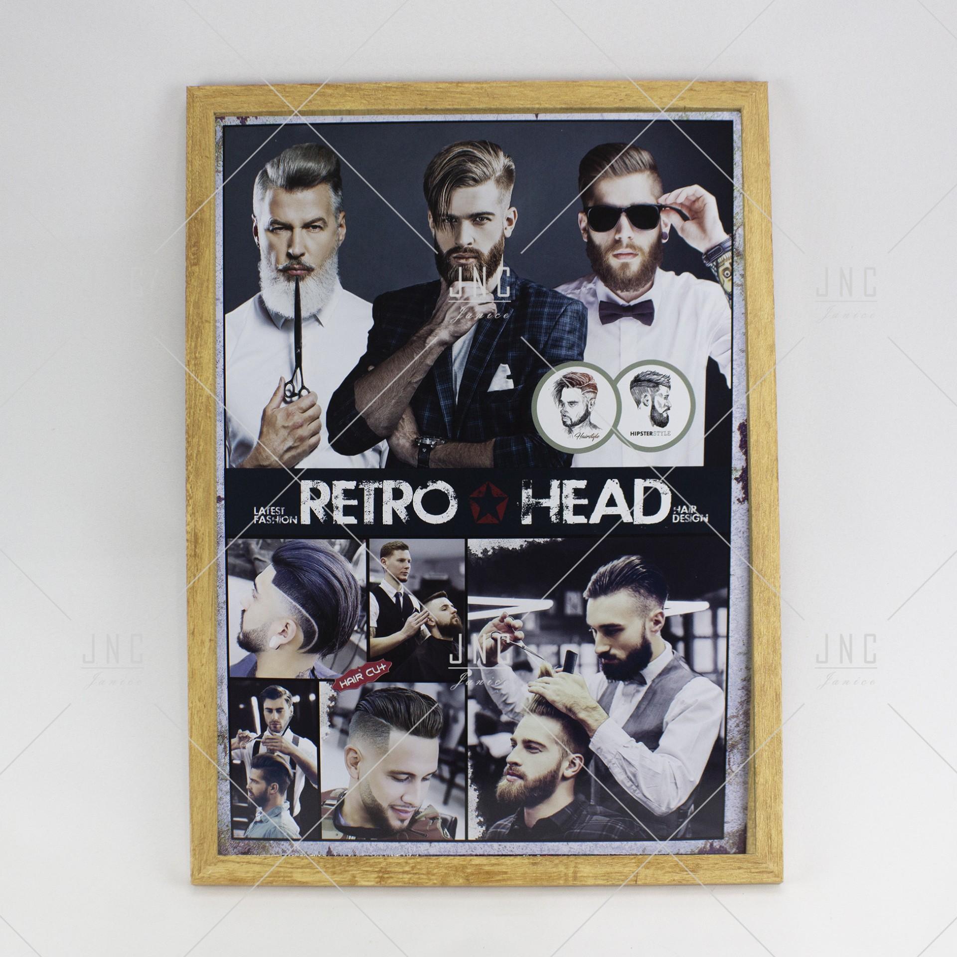 Quadro Barbearia #8 - Ref.862162