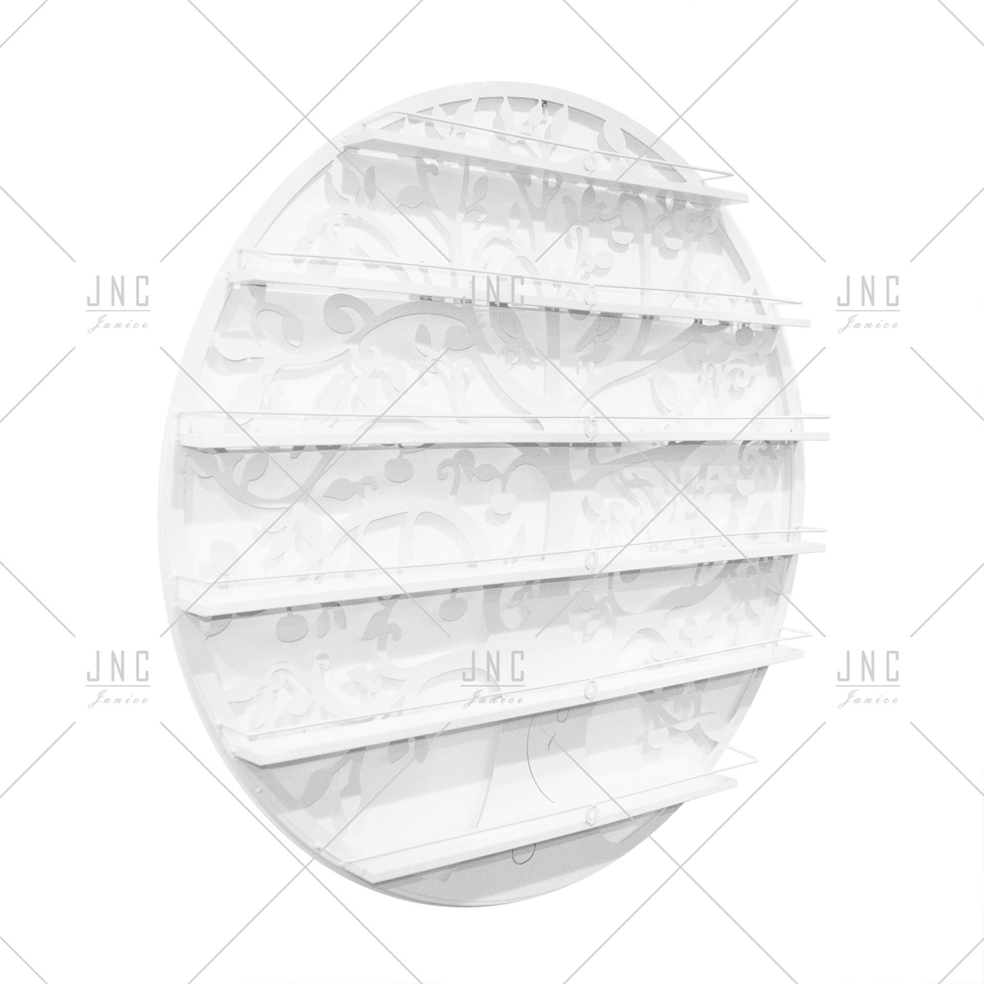 Estante Círculo Branco 90cm | Ref.788081B