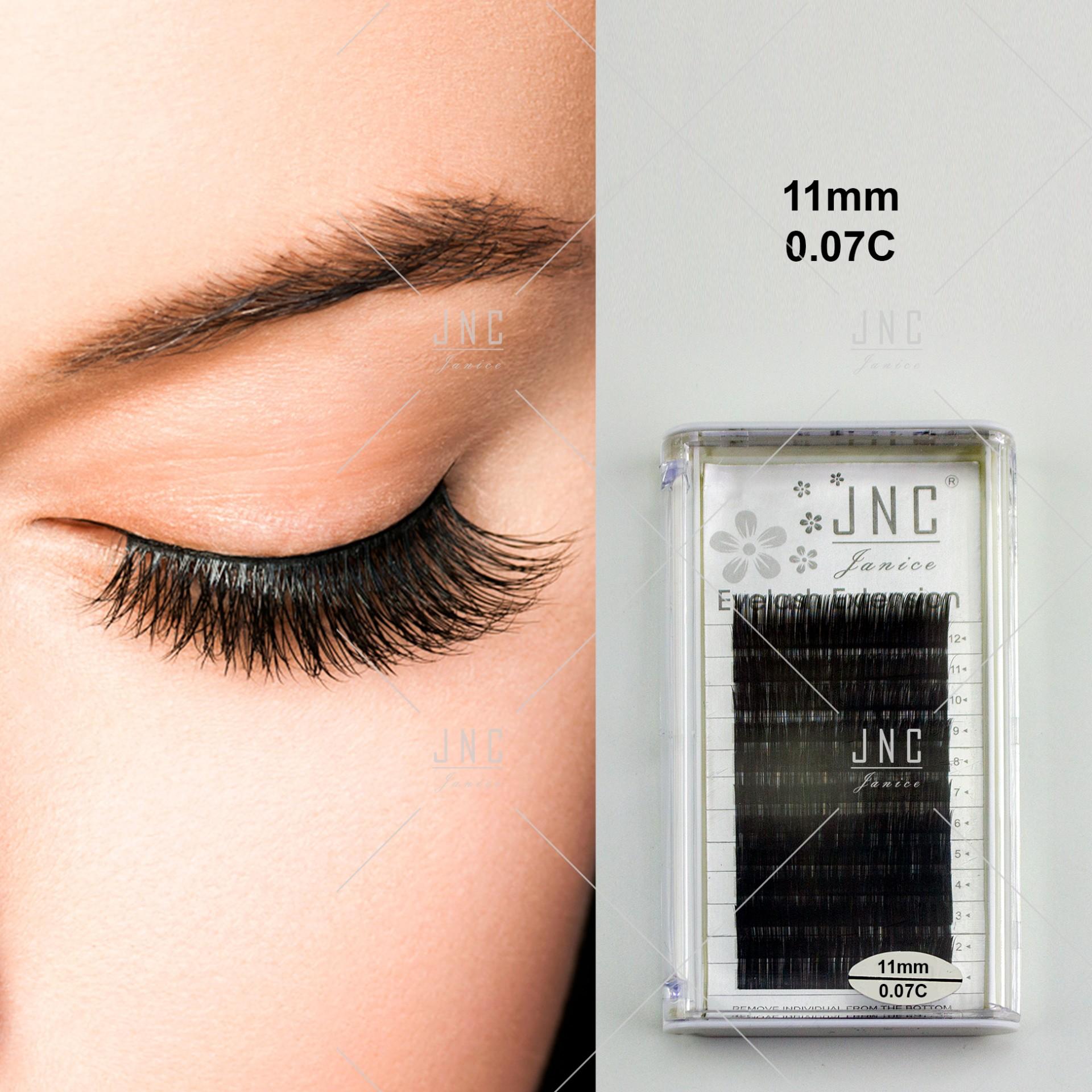 Extensão de Pestanas JNC   0.07C - 11mm   Ref.861265