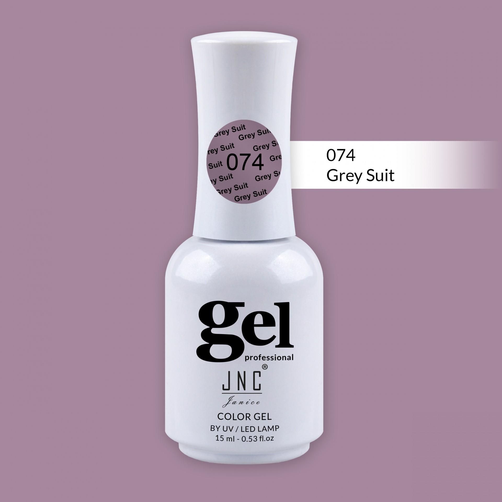 Verniz Gel 074 - Grey Suit
