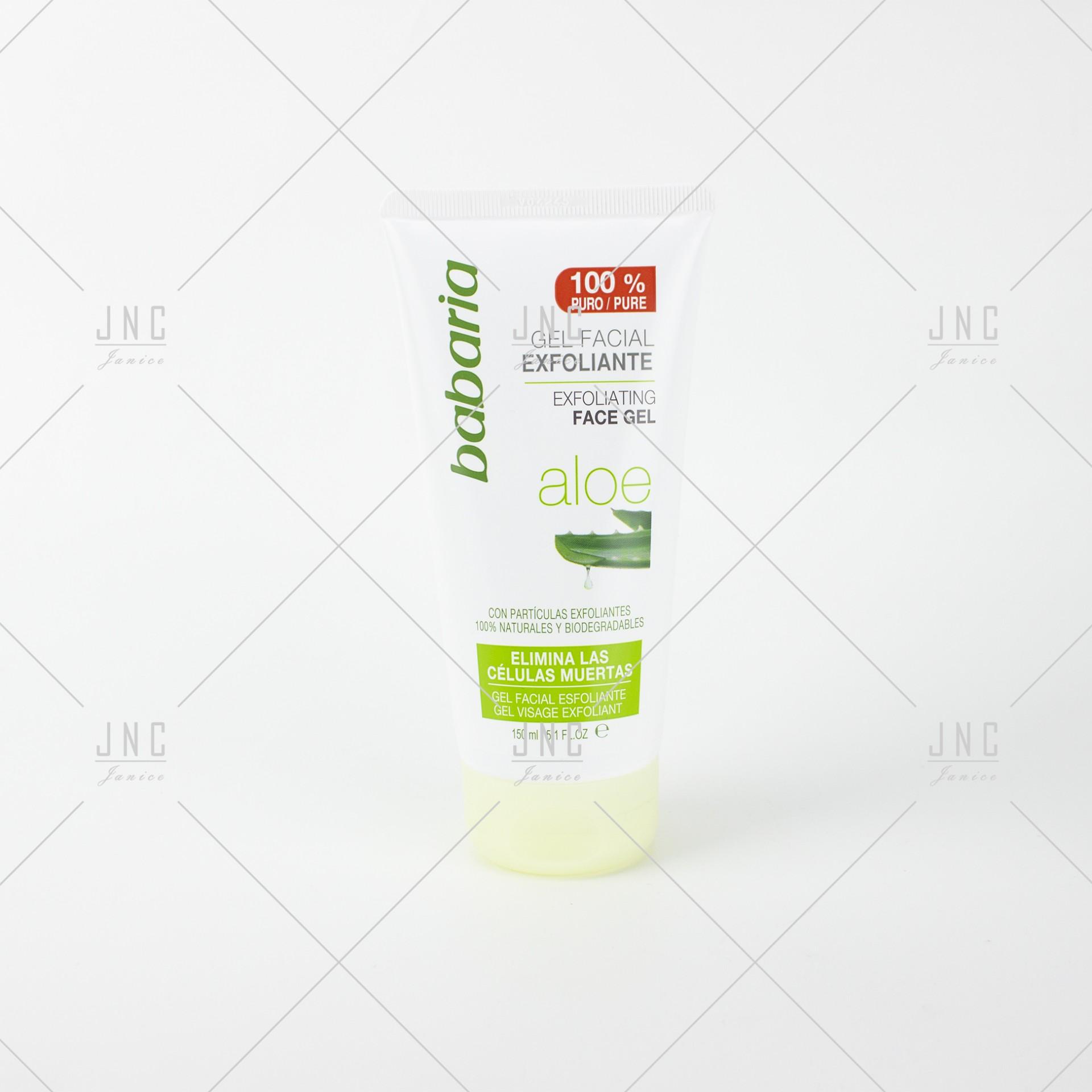 Gel Facial Esfoliante Aloe | Ref.025065
