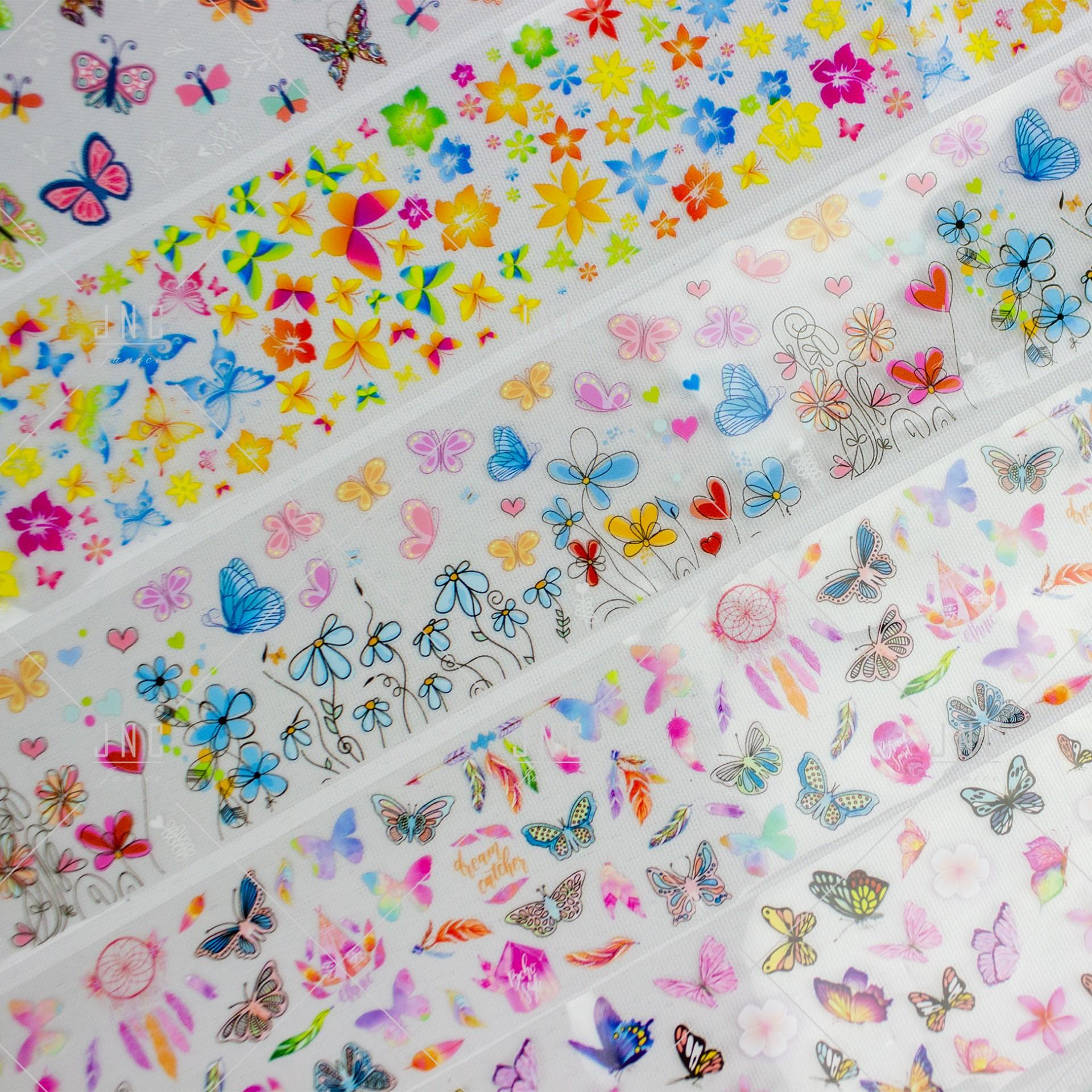 Pack 10 -  Foil Nail Art | Ref.862346
