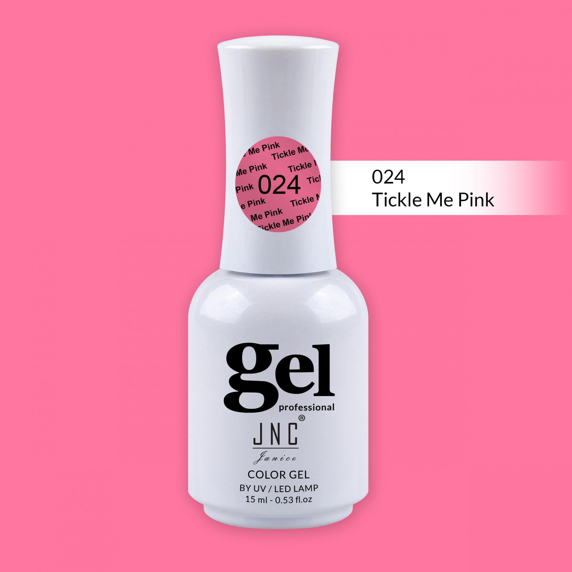 Verniz Gel 024 - Tickle Me Pink