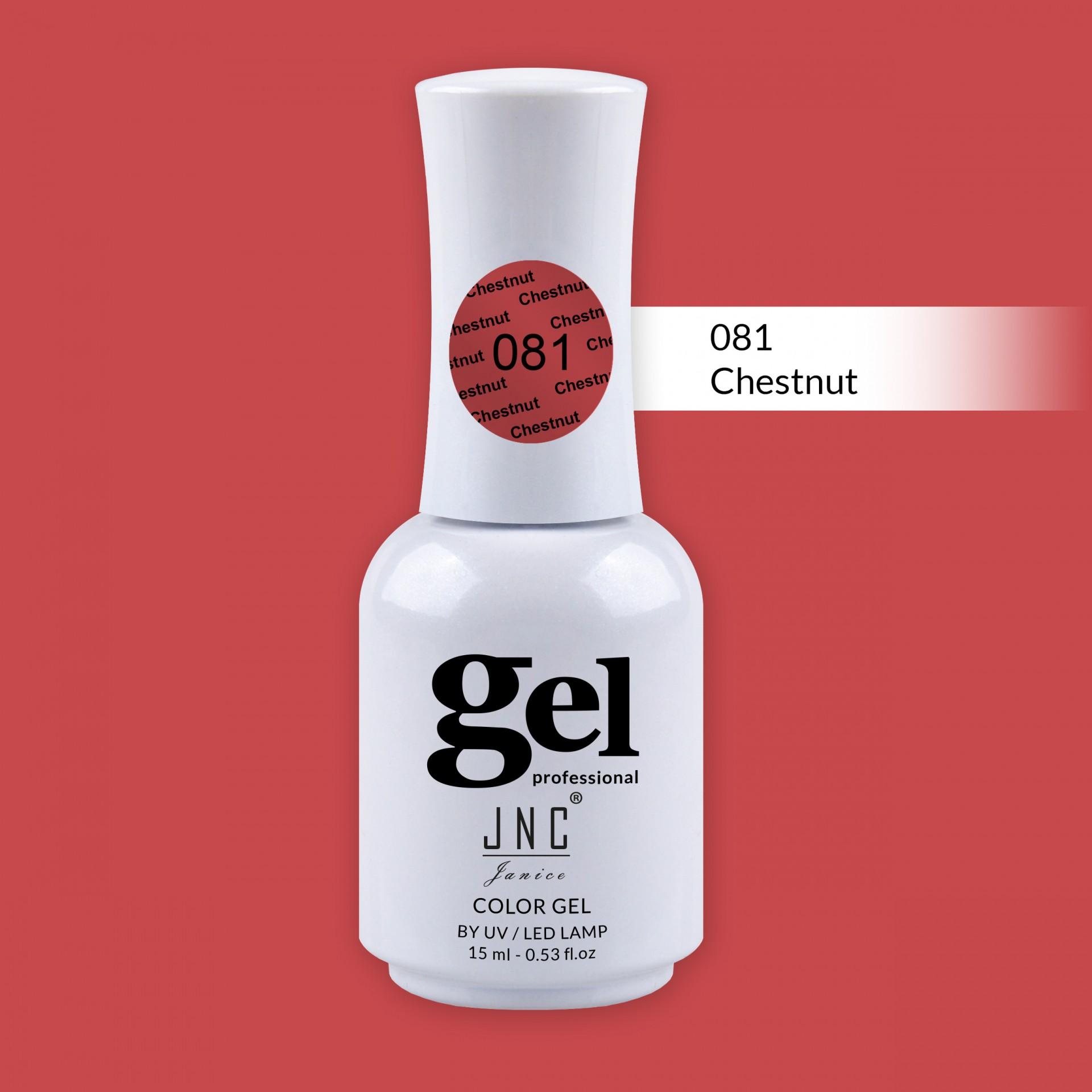 Verniz Gel 081 - Chestnut