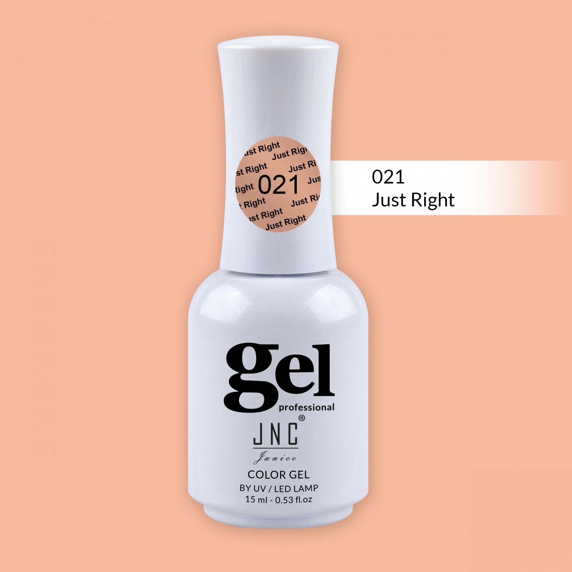 Verniz Gel 021 - Just Right