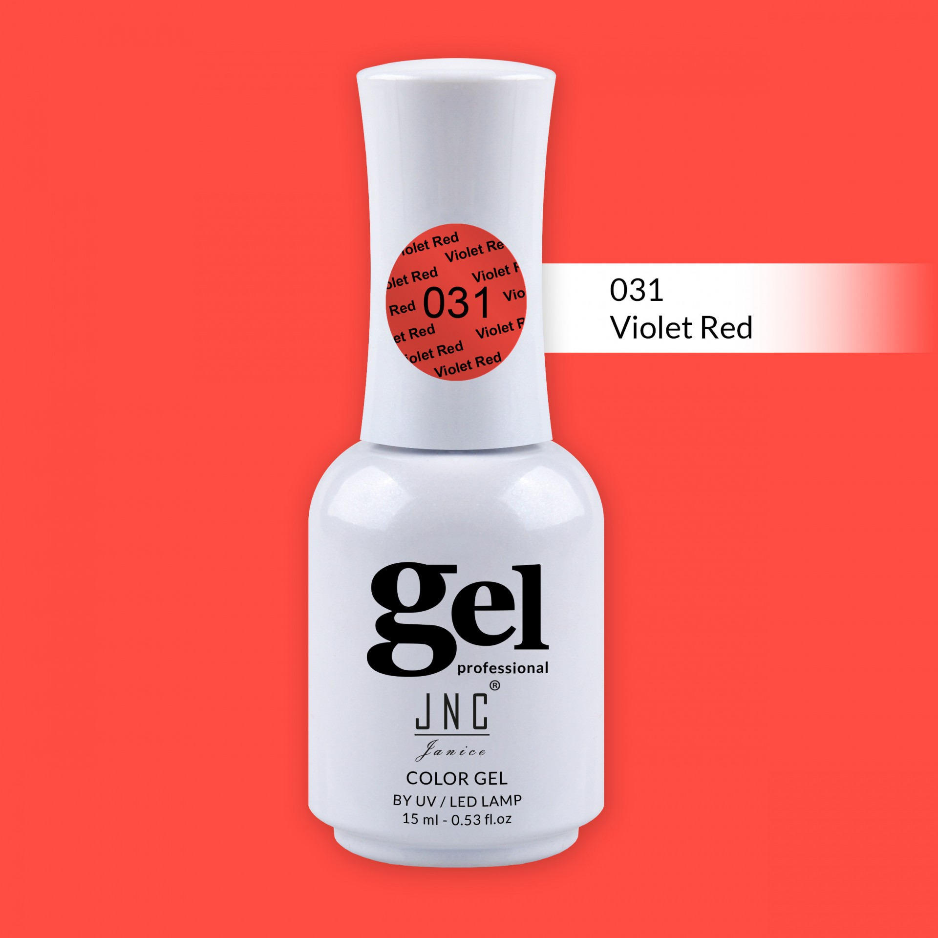 Verniz Gel 031 - Violet Red