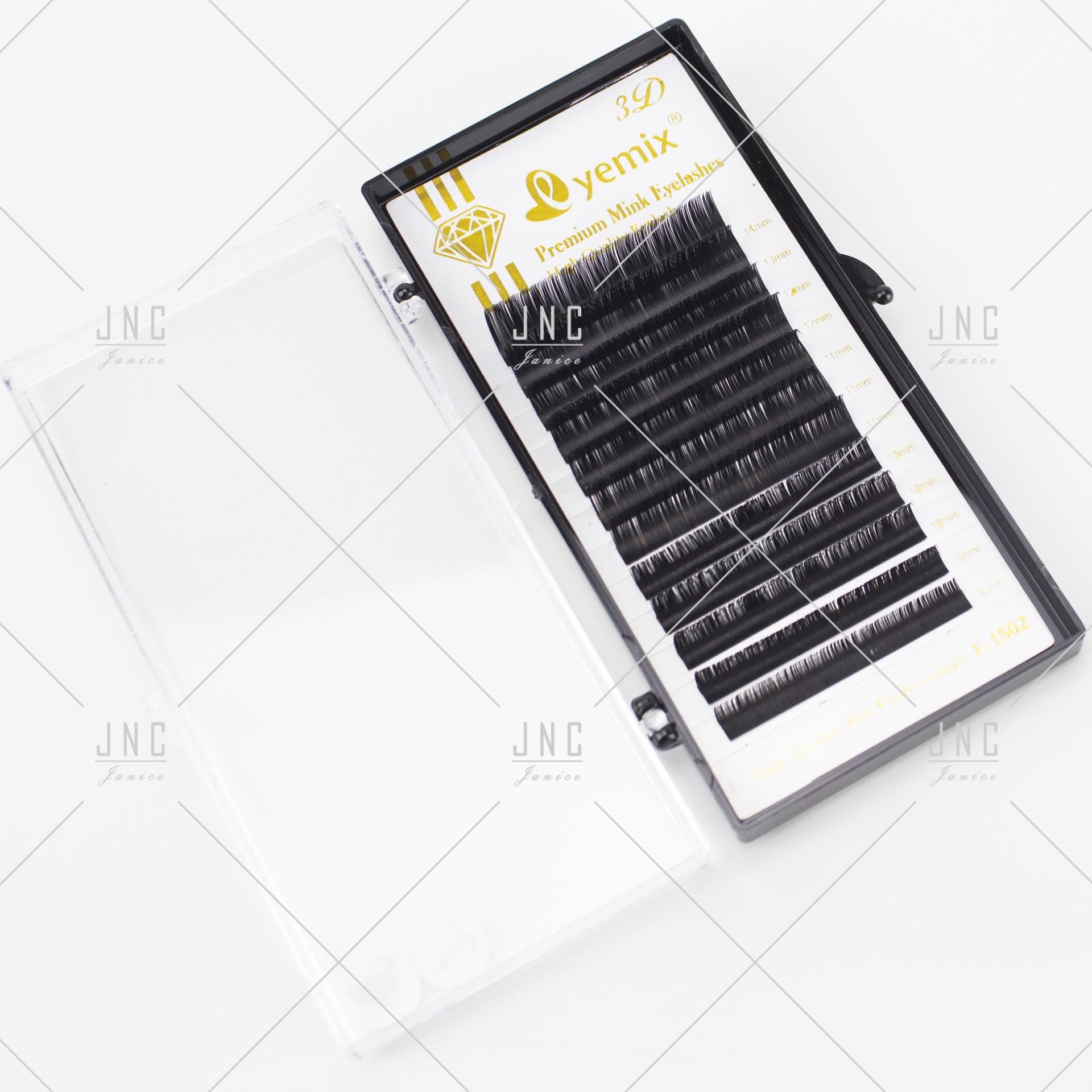Extensão de Pestanas Eyemix - Mist 8mm a 14mm - 0.20D   Ref.862466